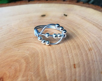 Spinner Ring, Worry Ring, Anxiety Ring, Stress Ring, Meditation Ring