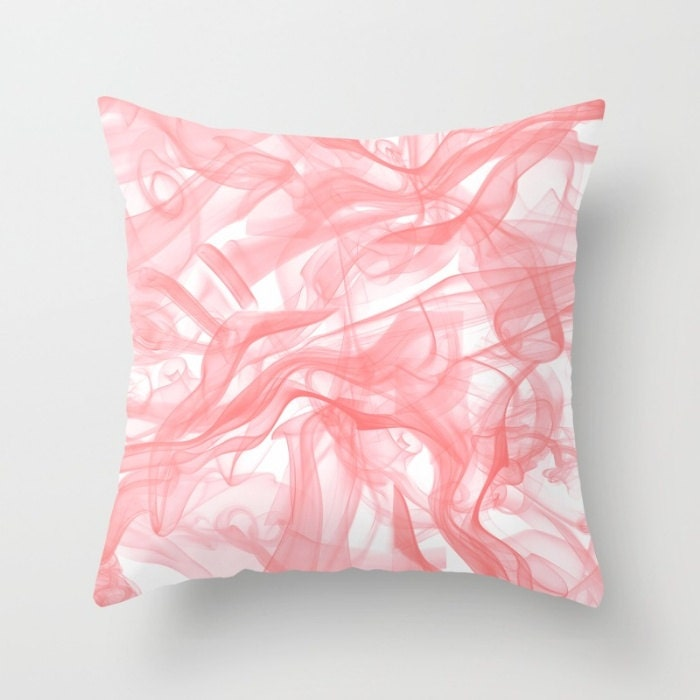 Blush Pink Pillow Cover Blush Pillow Decorative Throw Pillow