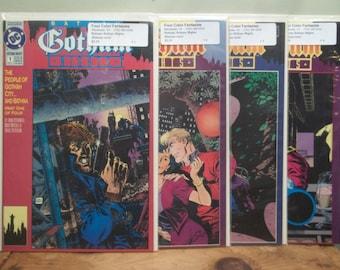 Lot of 4 (1-4) Batman Gothic Nights Comic Books