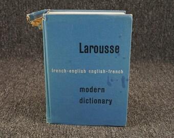 Larousse French-English English-French Dictionary C.1960