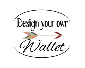 Design Your Own ID Wallet Lanyard Badge Holder Cash and Coin Purse