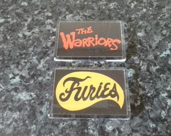 The Warriors and Baseball Furies 2 Magnet Set. Gang Logos. Cult Film