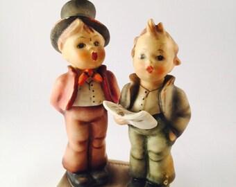 Hummel singing children figurine.