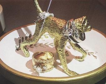 Monkey ring dish
