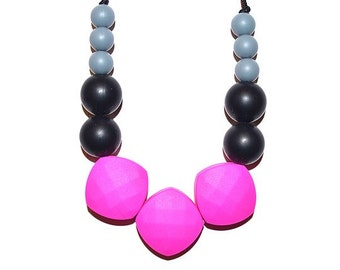 "Silicone Teething Necklace ""Cleo"""