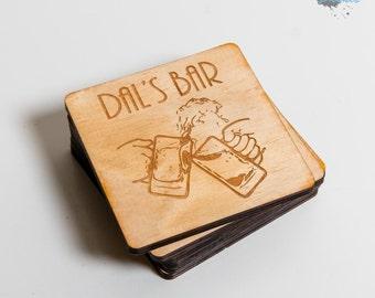 Personalised Engraved Coasters