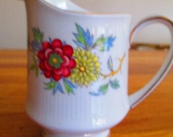 vintage paragon china jug , ceres milk jug ref 7
