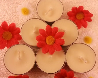 Soy tealight candles (pack of 6)