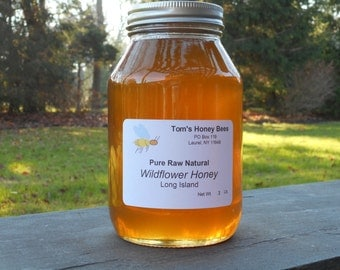 Raw Long Island Wildflower Honey