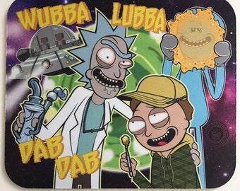 Roilty Rick and Morty Dab Pad