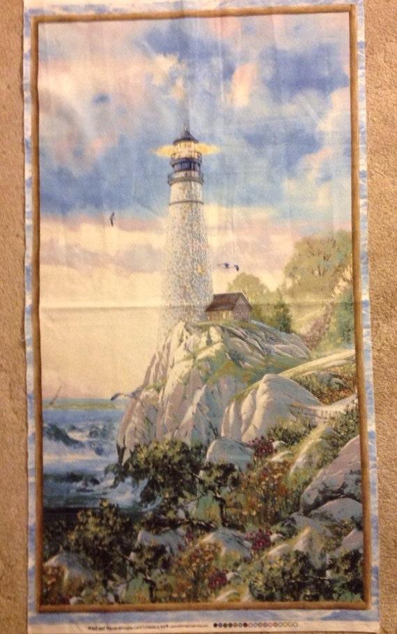 Lighthouse Fabric Panel
