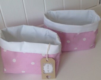 Girls/nursery storage basket