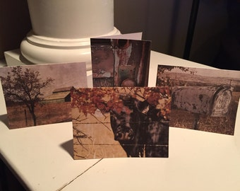 Old Farm Notecards-Set of 8