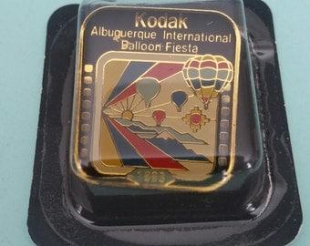 Vintage Kodak Albuquerque International Balloon Fiesta Pin 1995 New Old Stock Free Shipping