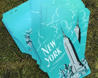 Like new New York playing cards