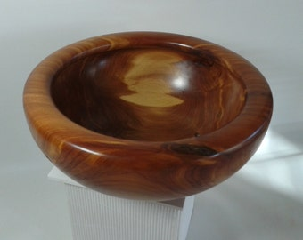Art bowl made from Western Cedar. Ideal fruit bowl or a piece of art.
