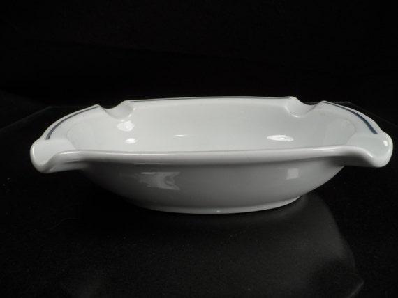 Ashtray-Ceramic Ashtray- German Advertising Ashtray-Manufactured by Bauscher Weiden Bavaria Germany-Tutt Estate