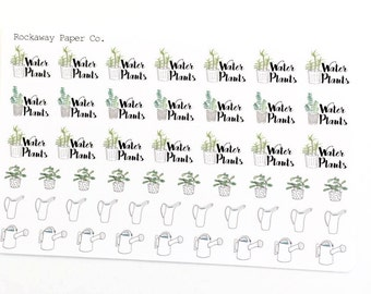 Water Plants Stickers