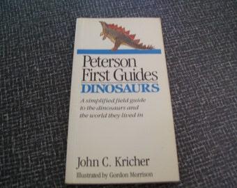 Peterson First Guides Dinosaurs by John Kricher Dinosaur Guide Pb 1990
