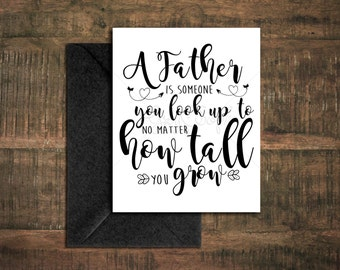 Father's Day Card // Instant Download