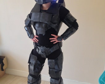Female Spartan cosplay costume