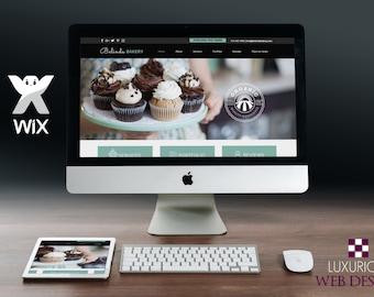 Belinda Bakery - Wix Template, Wix Theme, Wix Website Design, Website Template, Business Template, Business Websites, Bakery Website, Bakery