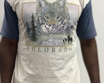Vintage Colorado Wolf T Shirt