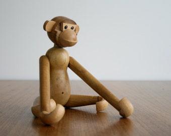 Mid Century Kay Bojesen Style Monkey FREE SHIPPING