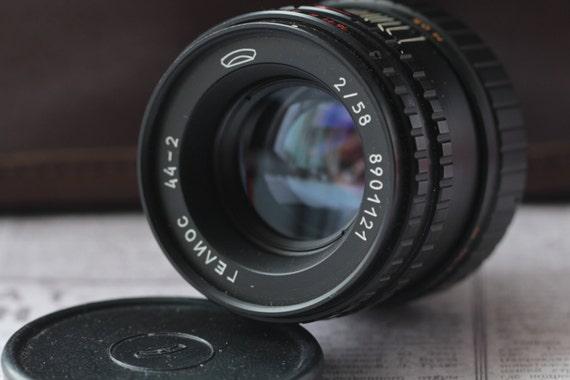 Helios 44-2 Soviet Lens M42 Pentax Canon Sony NEX Olympus Lumix #8901121