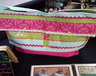Spring Stripes Display Purse/Tote