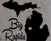 Set of 4 Big Rapids Coasters