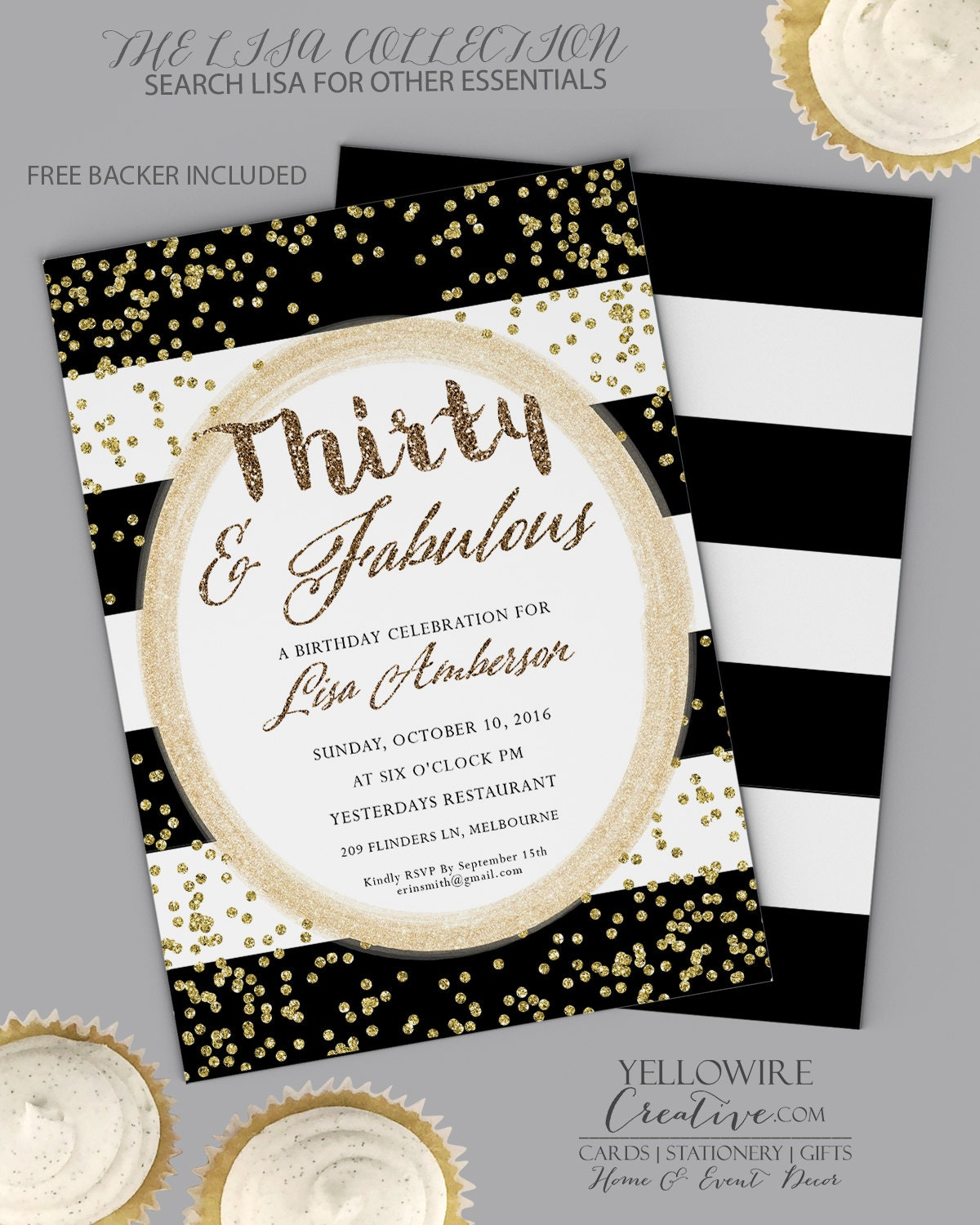 30th Birthday Invitation Dirty Thirty 30th Birthday ANY