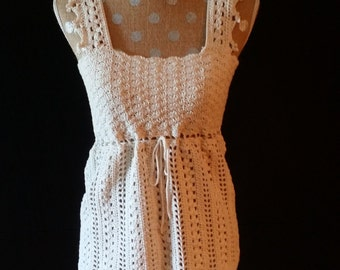Crochet top, Lace-Inspired Crochet Top, Lacy top, Summer Lace top, Lacy tunic
