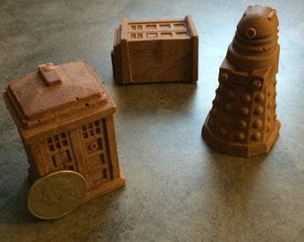 Dr. WHO Dalek and Tardis CHOCOLATE Gift Set