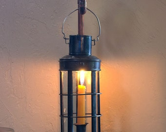 Pressure gauge candle