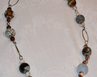 Cut Stones Necklace