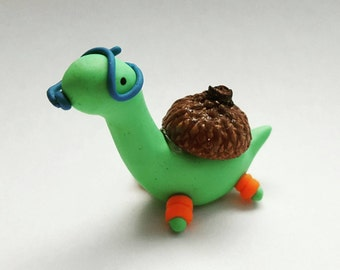 Sheldon the Tiny Dinosaur (Made to Order) Customizable!