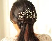 Bridal Hair Pins - Cherry Blossoms Hair Pins Set- # 6 - Made to Order
