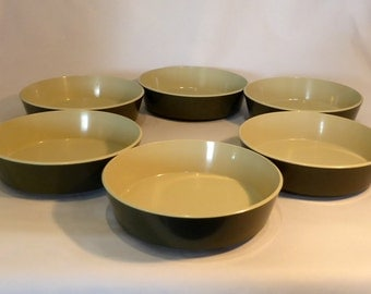 Encore by Gaydon - 6 melamine bowls - original from the 1960s