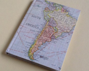 South America Travel Journal with Pockets