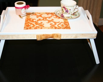 Unique Wooden Tray Table