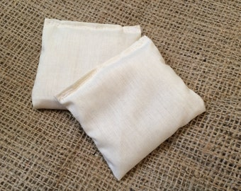 Handwarmer Insert Set, Stocking Stuffer, Rice Handwarmer, Pocket Warmer, Pocket Warmer Set, Lavender Pocket Warmer, Essential Oil Handwarmer