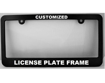 custom license plate frame new york style license plate holder license frame car license plate frame personalized license frame