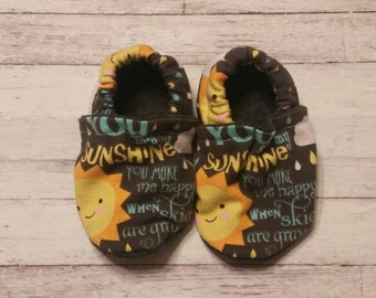 You are my sunshine Crib Shoes 6-12m