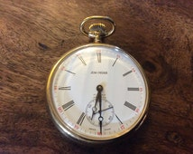 A Pocket Watch by Jean Pierre,17 Jewels,Incabloc & With A Sweeping Motion Second Hand