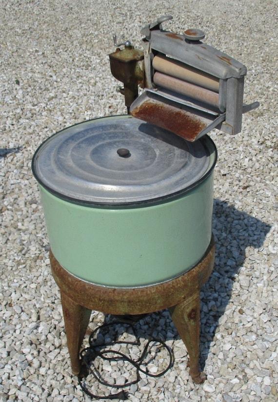 Washing Machine Wringer Washer Vintage Mid Century Maytag