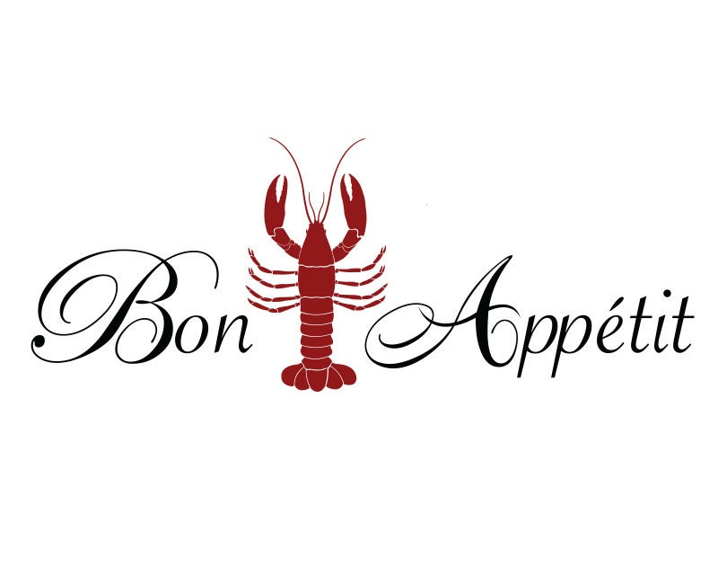 lobster kitchen accessories lobster decal lobster kitchen decor lobster wall decor 3831