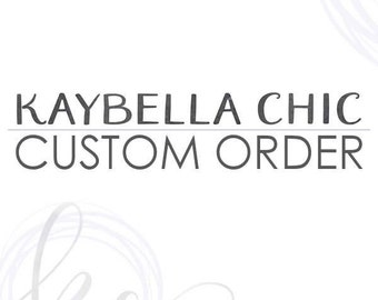 Custom clutch message for inside flap