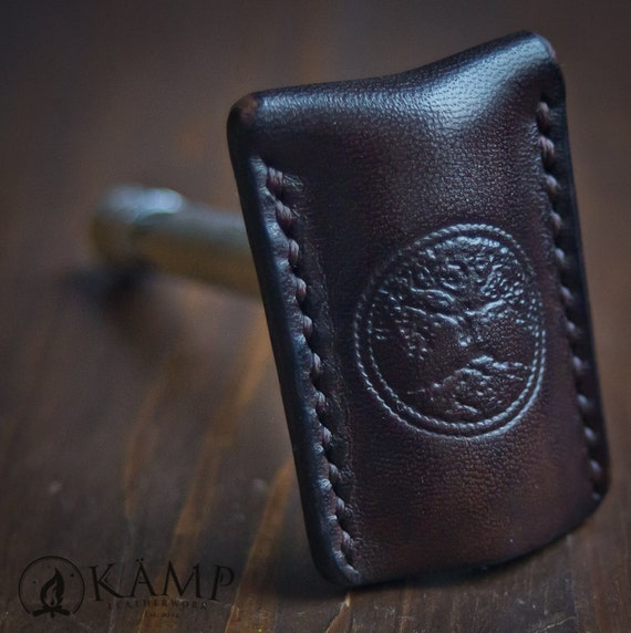 Kamp Leatherwork safety razor leather sheath cover case Review