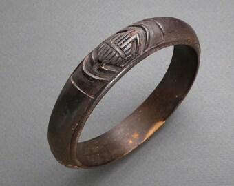 Hand carved Wooden bracelet